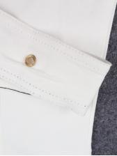 Hot Sale Sleeveless White Denim Dress