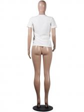 Cartoon Printing Short Sleeve Cotton T-shirt