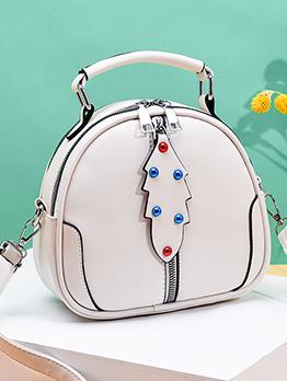 Fashion Beading Decor Shoulder Bags For Women
