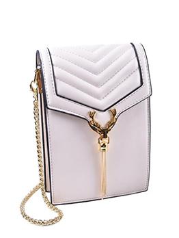 Summer Height Shape Tassels Ladies Crossbody Bags