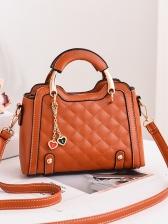 Fashion Rhombus Design Handbags With Belts