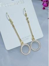 Simple Elegant Loop Design Ladies Earrings