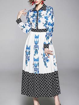 Euro Slim Fitted Shirt Long Sleeve Dress