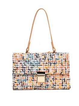 Fashion One Shoulder Knitted Bag