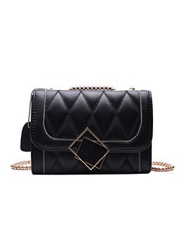 Rhombus Chain Shoulder Bag