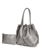 Waterproof Large Capacity Drawstring Bucket Bag Sets