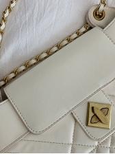 Fashion Hasp Casual Shoulder Bag