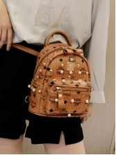 Casual Fashion Rivet Mini Backpacks