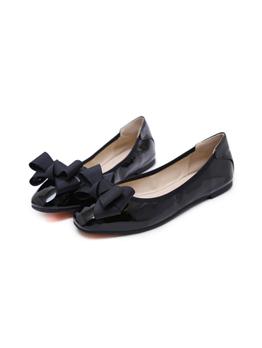 Korean Design Bow Slip On Female Flats