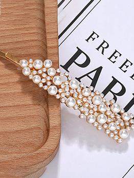 Fashion Pearl Hair Clip For Women