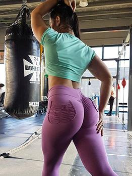 Hip Slim Push Up Female Yoga Legging