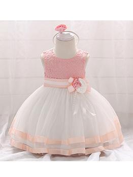 Lovely Sleeveless Girl Flower Dresses