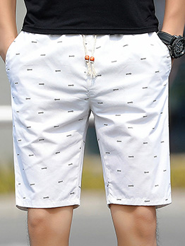 Fashion Dot Printed Short Pant For Men