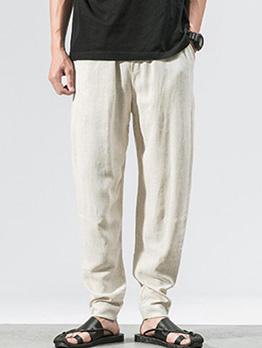 Hot Sale Solid Pencil Pants For Men