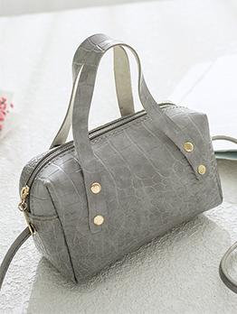 Alligator Print Mini Solid Ladies Shoulder Bag
