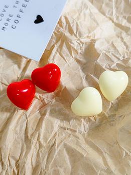 French Chic Heart Earrings For Women