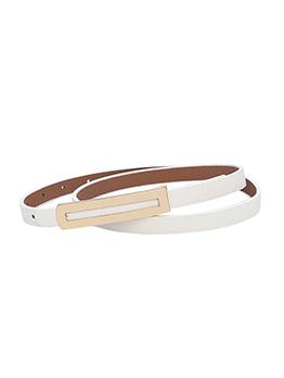 Simple Design Slender Belts For Women