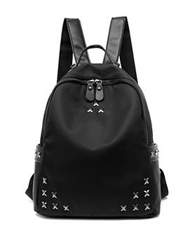Chic Preppy Style Rivet Travel Backpack