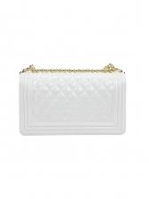 Fashion Solid Rhombus Female Shoulder Bag