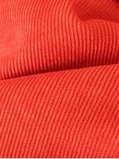 Casual Pocket Wide Leg Orange Long Pant For Women