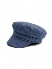 British Style Solid Minimalist Women Berets Hat