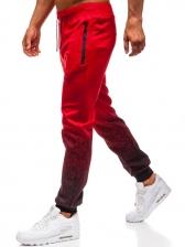 Hot Sale 3d Gradient Mens Sports Long Pants