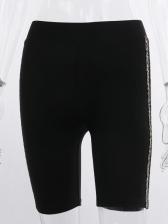 Leopard Printed Side High Waist Yoga Pants