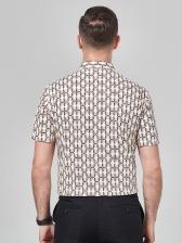 Business Chain Printed Mens Polo Shirts