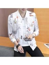 Stylish Printed Long Sleeve Bomber Jackets