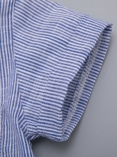Striped Shirts With SuspenderTrousers Baby Set