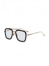 Vintage Style Metal Frame Polarized Sunglasses
