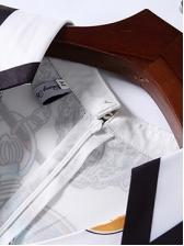 V Neck Printed Short Sleeve Maxi Dress