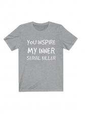 Letter Short Sleeve T-Shirt For Women