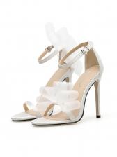 Stylish Gauze Butterfly Buckle Strap Women Sandals