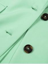 Fashion Single-breasted Long Sleeve Blazers