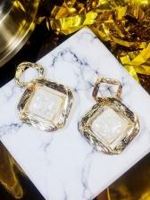Popular Rhombus Pattern Earrings For Women