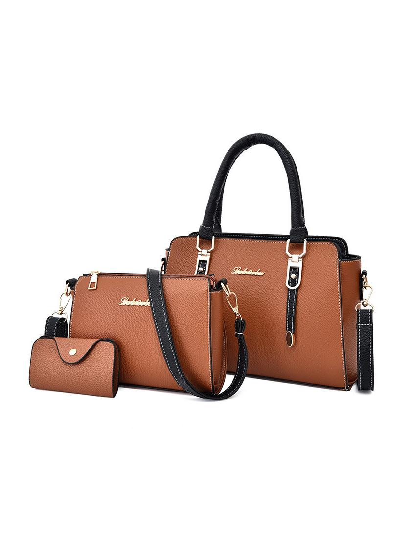 Large Capacity Simple Handbag Set For Women
