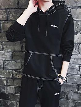 Creative Long Sleeve Pullover Hoodie Activewear