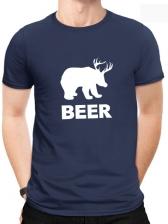 Summer Short Sleeve Printed Cotton t Shirt