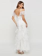 Lace Vocation Spaghetti Strap Long Dress