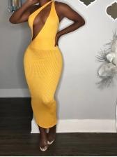 Stripe Off Shoulder Bodycon Dress