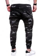 Camouflage Multiple Pockets Men Cotton Pants