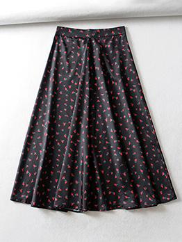 Floral Smart Waist Ruffled Long Dress