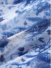 V Neck Lace Patchwork Floral Irregular Maxi Dress