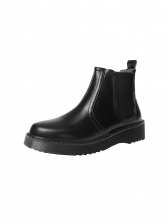 British Style Solid Leather Womens Boots