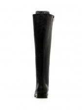 Black Bandage knee High Boots
