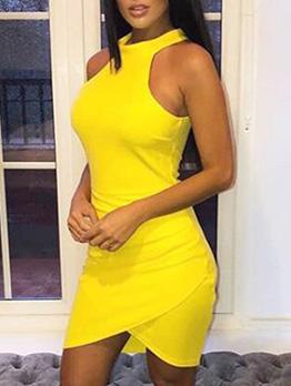 Seductive Halter Sleeveless Summer Dresses