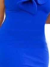 Stereo Stringy Selvedge Decor Bodycon Party Dress