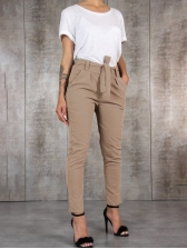 Casual Solid Color Pants For Women