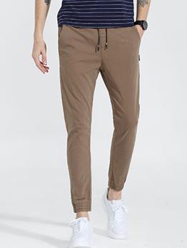 Harem Elastic Waist Drawstring Jogger Pants